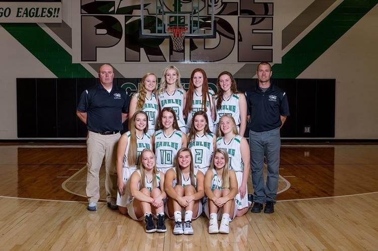 Girl's Varsity Basketball Team Photo