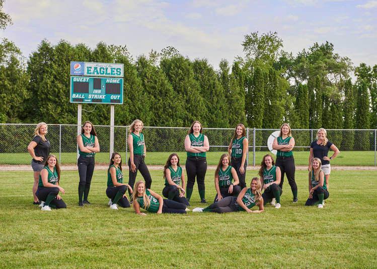 Varsity Softball Team Photo