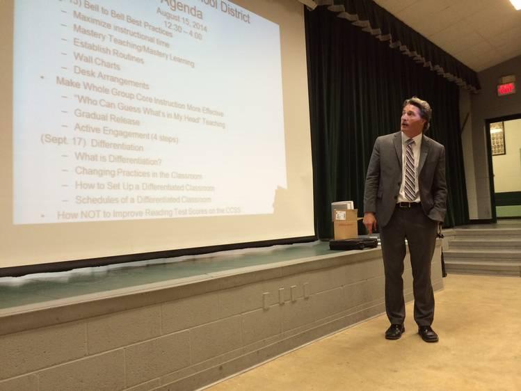Teacher Inservice Presentation