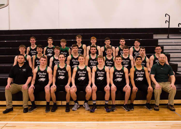 Boy's Track Team Photo for the 2019 Season