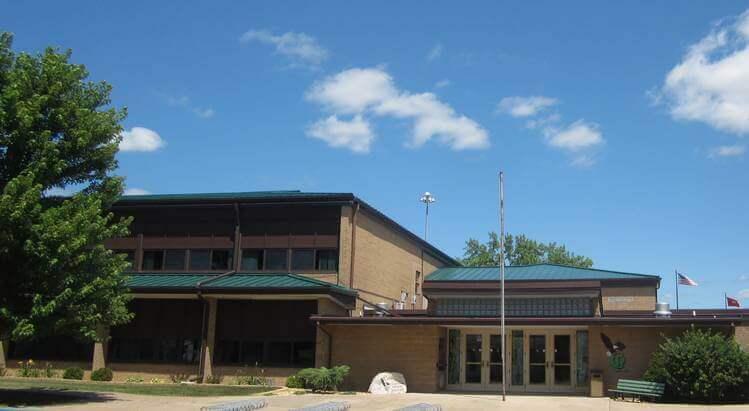 Middle School Building Exterior
