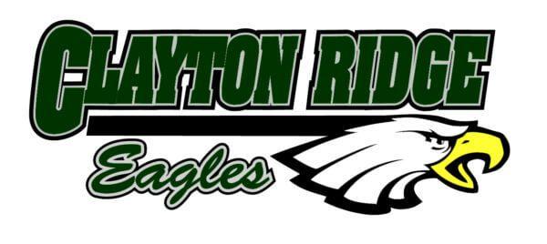 Clayton Ridge Eagles logo