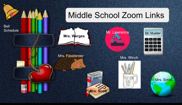 MS Zoom Links