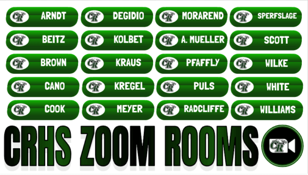 CRHS Zoom Rooms