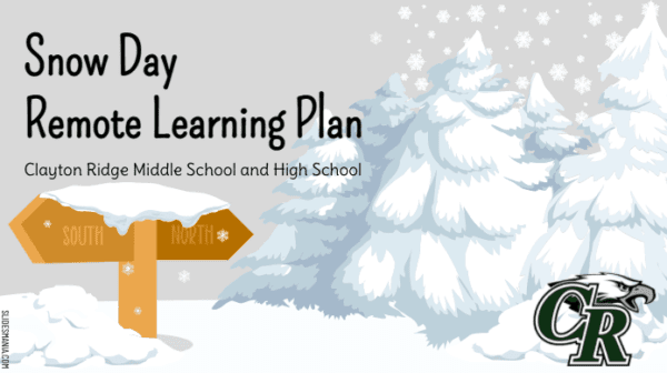 Snow Day Remote Learning Plan